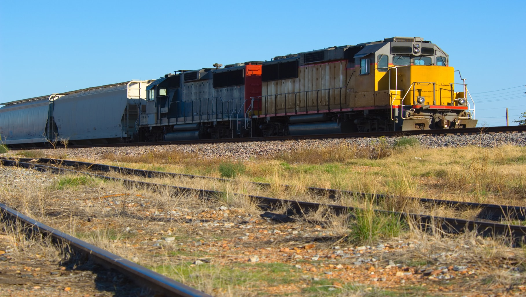 IOC transports agricultural and industrial chemicals by rail.