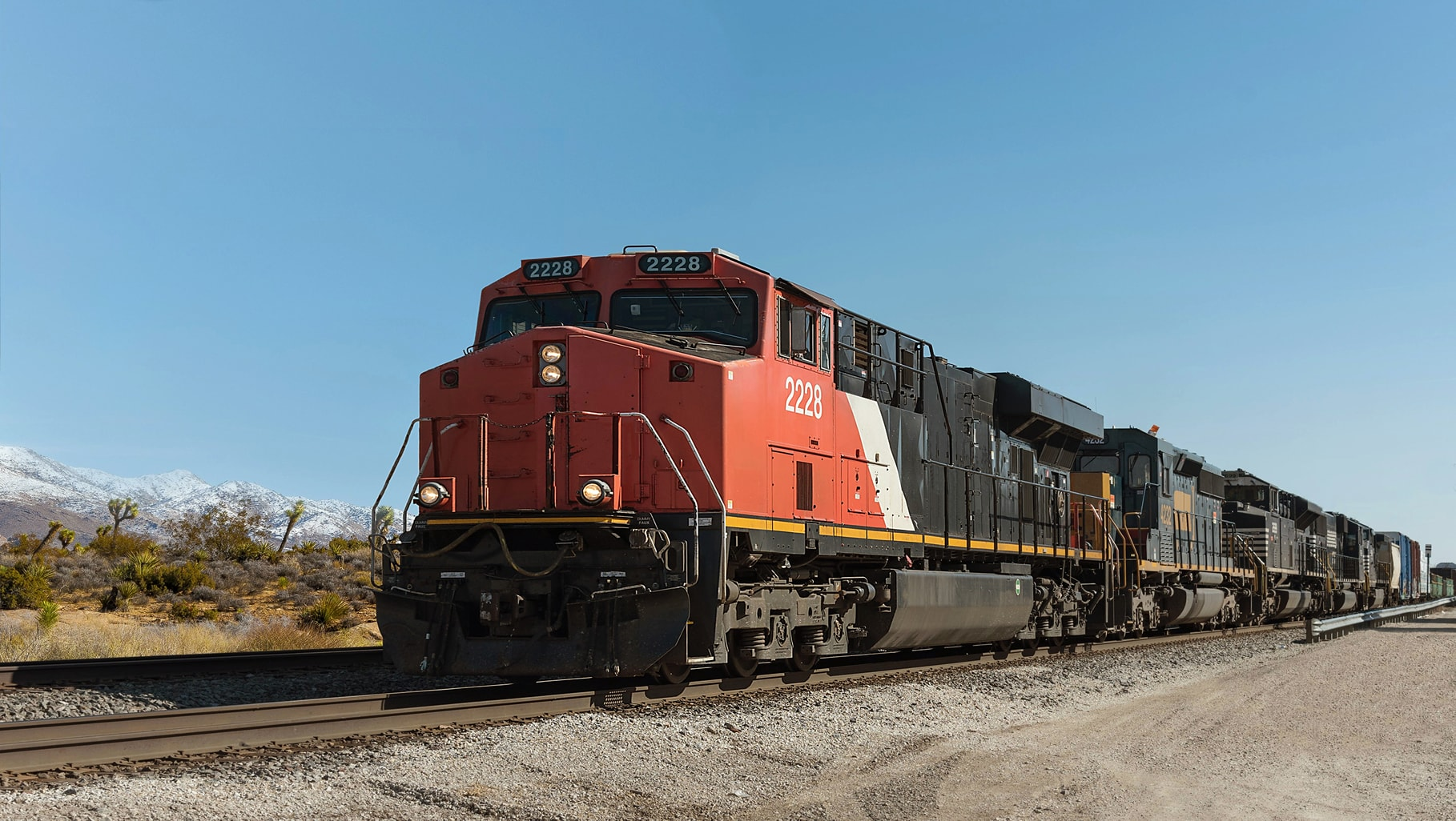 IOC transports agricultural and industrial chemicals via rail road classes I through III across the United States.